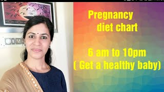 Pregnancy diet chart for indian women || Pregnancy tips tamil || How to get a healthy baby