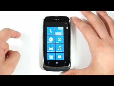Nokia Lumia 610 - appearance, menu - part 1