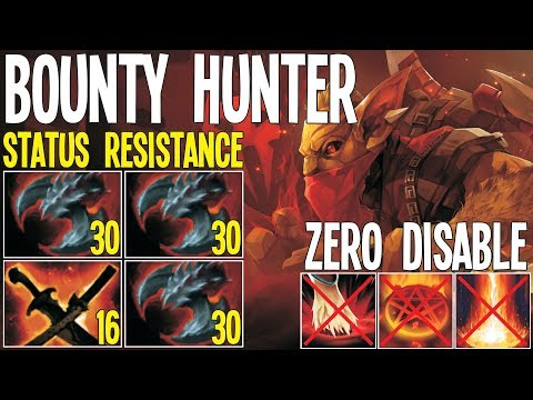 Bounty Hunter 92% Status resistance [Zero Disable] 3 Satanic | Dota 2 Pro Gameplay thumbnail