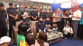 139 grave sites, 28 trafficking camps found: IGP