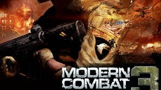 Game On LG Opitimus L3:Modern Combat 3(QVGA)