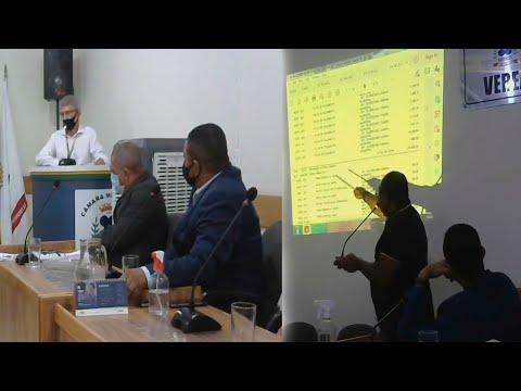 Câmara Municipal de Vereadores de Itacarambi MG Reunião realizada no dia 18/08/2021