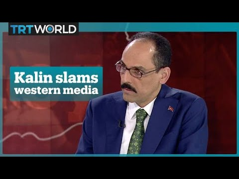 Ibrahim Kalin Slams The Western Media Over Their Coverage Of Turkey's Elections