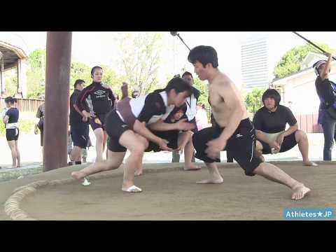 【女子相撲】野崎舞夏星さん試合直前稽古 Women's Sumo