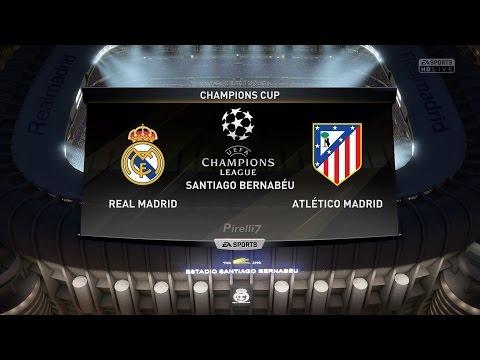 Real Madrid vs Atletico Madrid |Champions League Semi-Finals | 2/5/2017 FIFA 17 Predicts by Pirelli7