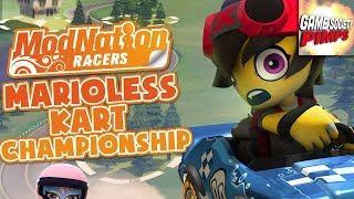 "Marioless Kart Playoffs - Game 3 - ""ModNation Racers"" - Guys VS Games"