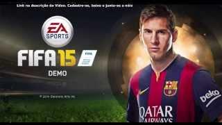 Fifa 15 PC Demo Download - Gameplay com análise no Forno!!!