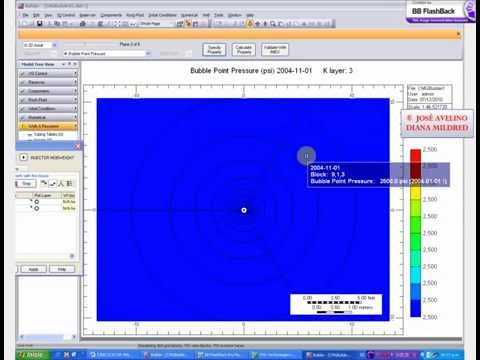 Video Tutorial.  Radial Grid: CMG Launcher Technologies (Winprop & Builder) Reservoir Simulation