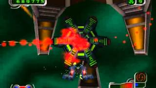 Nanotek Warrior ( PS1 ) - Full gameplay