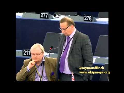 EU exploiting poor nations on behalf of powerful interests - Raymond Finch MEP