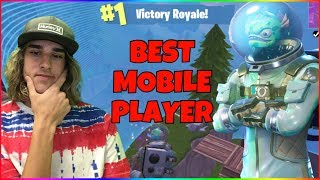 Gambar cover The BEST Fortnite Mobile Player EVER | Road To Pro EP 1 | Fortnite Battle Royale