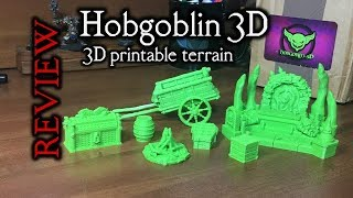 Hobgoblin 3D Printable Terrain (Review) - Print your own terrain for D&D!