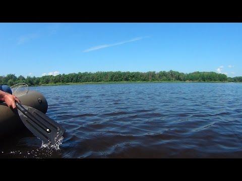 судак на кружки летом видео