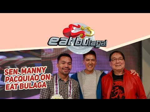 Sen. Manny Pacquiao on Eat Bulaga! | July 24, 2018