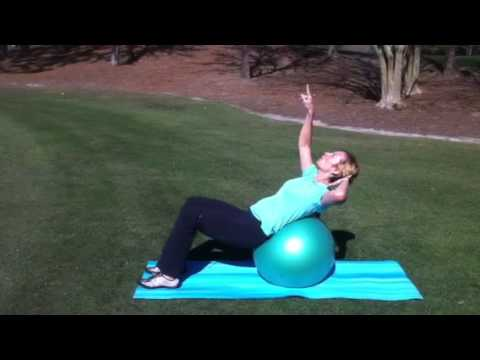 Golf fitness tip with Ladies Links Fore Golf