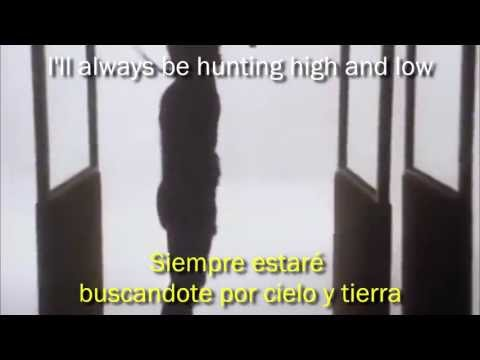 a-ha - Hunting high and low [HD 720p] [Subtitulos Español / Ingles] [Vídeo oficial]