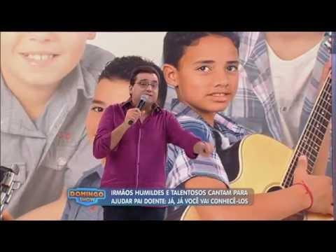 Promessa sertaneja: Geraldo Luís ajuda irmãos que cantam para ajudar pai doente