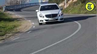 New Mercedes E-Class 2013 driven by Autovisie.nl