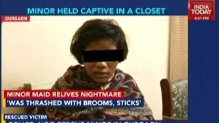 14-Year-Old Maid Rescued From Delhi Businessman's Closet