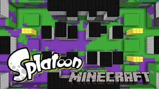 Splatoon in Minecraft thumbnail