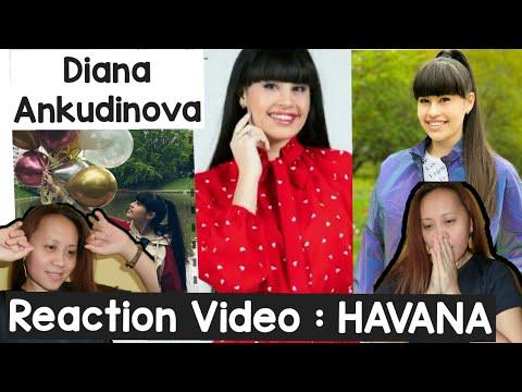 Diana Ankudinova | HAVANA ( Camila Cabello ) Happy 17th Birthday Diana🎂 | Video Reaction