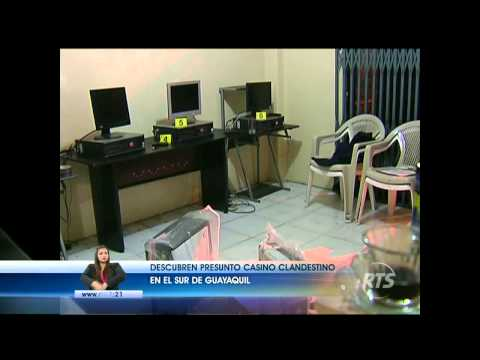 Descubren presunto casino clandestino en Guayaquil