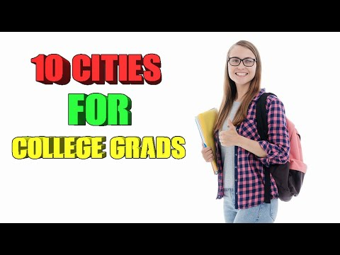 Top 10 Cities Recent College Grads Are Moving To.