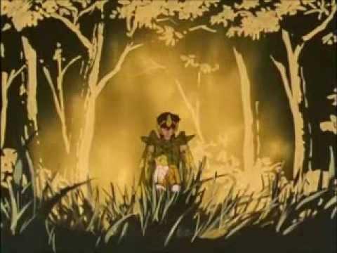 Seiya viste por primera vez la armadura de Sagitario