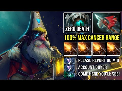 NEW 7.23 CANCER RANGE SOLO MID SNIPER 100% Unkillable Meta Destroyed Everyone 8000 MMR DotA 2