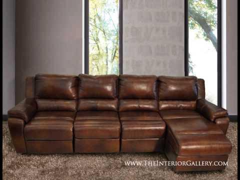 Modern Leather Sofa Set Genuine 100% Leather