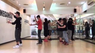 20120617 阿峰老師MV舞蹈教學~周湯豪 SNG(第三週)