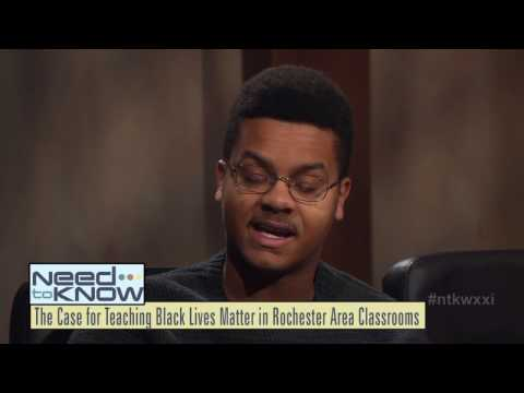 Teaching Black Lives Matter In School & How A Woodshop Is Empowering ROC Teens