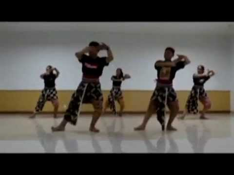 How to practice perang perangan dance