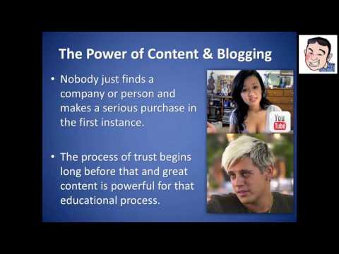 Live Webinar: PROFITABLE Content Marketing and Blogging (19th December 2016)