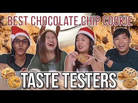 BEST CHOCOLATE CHIP COOKIE | Taste Testers | EP 86