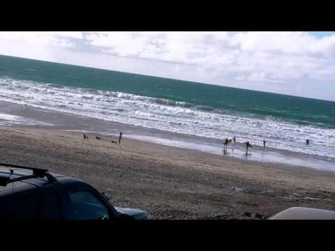 Porthtowan Beach, Blue Bar, Cornwall ,UK.MP4