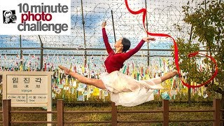 10 Minute Photo Challenge on North Korean Border