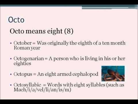Numerical Prefixes 2