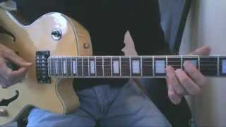 How to Play Take Five on Guitar. Take Five Dave Brubeck Guitar Lesson. Take 5 Chords.