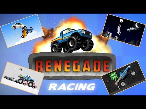 Cartoon Game - Renegade Racing [HD] All Level 1- 18 | Tot Toys for Kids