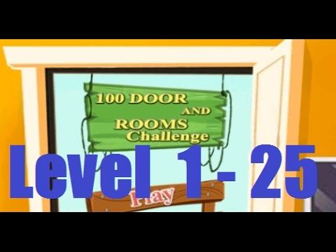 100 Doors & Rooms Challenge Level 1 - 25