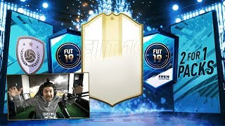 FREE PACKS!! I GOT A NEW PRIMER ICON!! 2 FOR 1!! FIFA 19