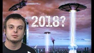 SUPUESTO VIAJERO EN EL TIEMPO ADVIERTE QUE EN EL 2018 HABRA UNA INVASION EXTRATERRESTRE!!