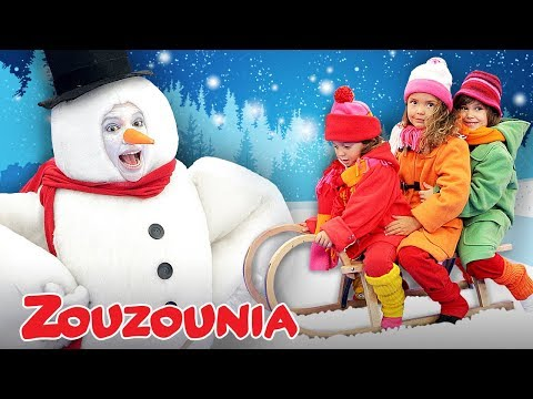 Frosty the Snowman & more Christmas Songs for Children | Nursery Rhymes by Zouzounia