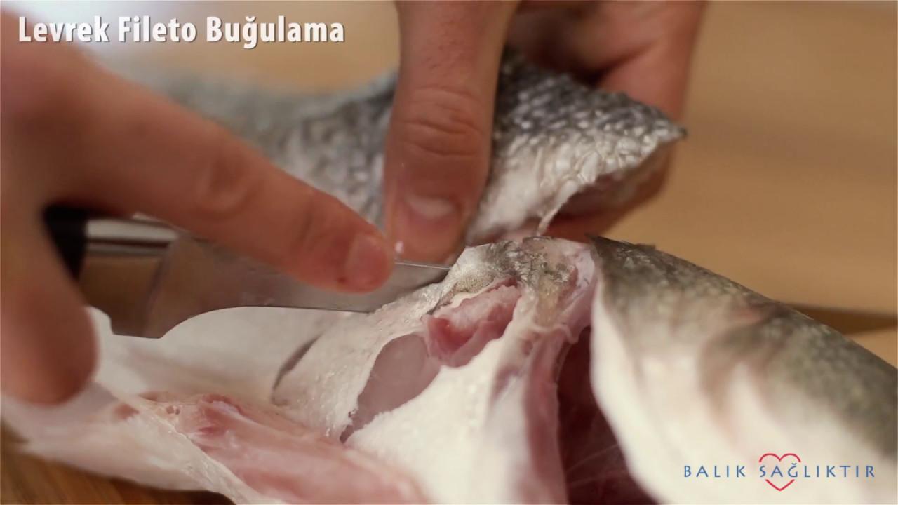 Levrek Nasıl Temizlenir ve Fileto Çıkarılır