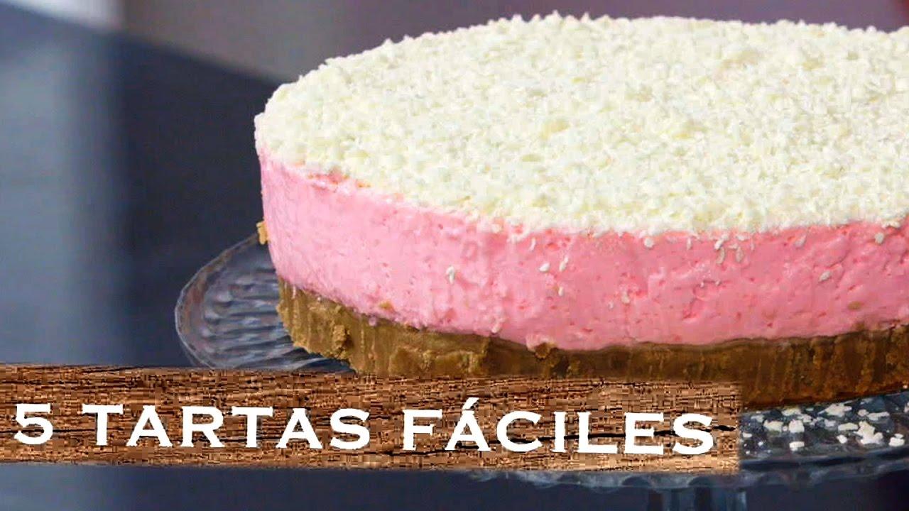 tartas fáciles y rapidas sin horno