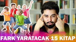 Çocuklarda Fark Yaratacak 15 Kitap | Çocuk Kitabı Tavsiyeleri #1