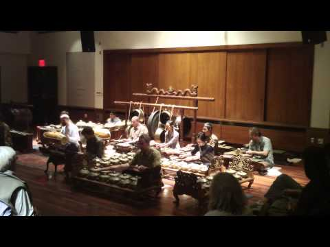 Ladrang Pangkur, performed by the Cornell Gamelan Ensemble