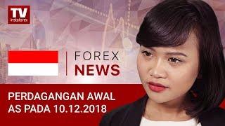 InstaForex tv news: 10.12.2018: USD terhempas oleh NFP yang lemah: EUR/USD, USDX, USD/CAD USD