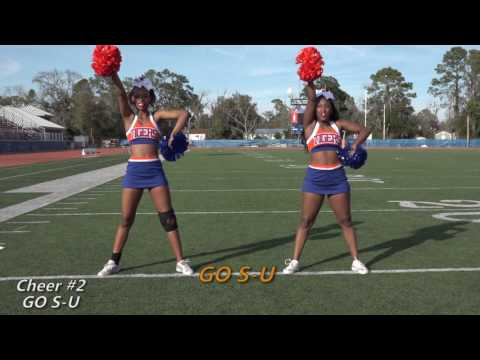 2017 SSU CHEER || TRYOUT MATERIAL